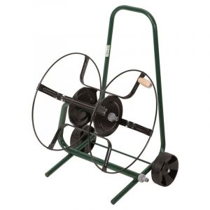 Heliotrade Devidoir enrouleur de tuyau de jardin sur roue à equiper