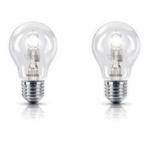 Philips 925699244204 - Ampoule Eco-Halogène Standard Culot E27 70 Watts consommés (Equivalence incandescence 92W)