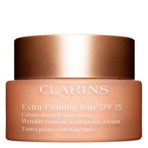 Clarins Extra-Firming Jour - Crème fermeté anti-rides toutes peaux SPF15