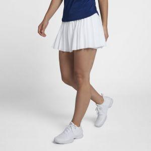 Nike Jupe de tennis Court Victory pour Femme - Blanc - Couleur Blanc - Taille L