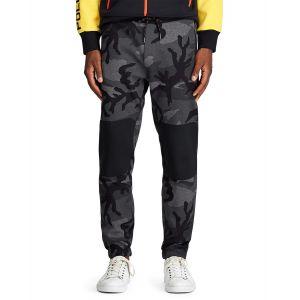Ralph Lauren Pantalon de jogging camouflage siglé Gris Polo