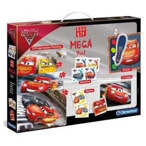 Clementoni Edukit Mega 7 en 1 Disney Cars 3