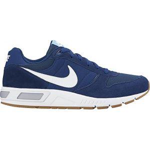 Nike Nightgazer, Chaussures de Running Entrainement Homme, Bleu (Coastal Blue/White-Bluecap), 39 EU