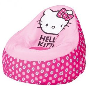 Worlds Apart Fauteuil poire gonflable Hello Kitty