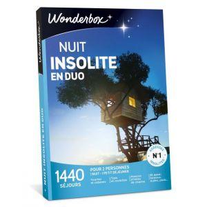 Wonderbox Nuit insolite en duo - Coffret cadeau 1440 séjours