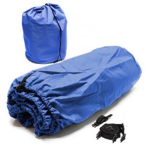 """wiltec Bâche Bateau Bleue 668x295cm 20-22"""" Housse Tissu Protection Intempéries Hydrofuge Hivernage"""