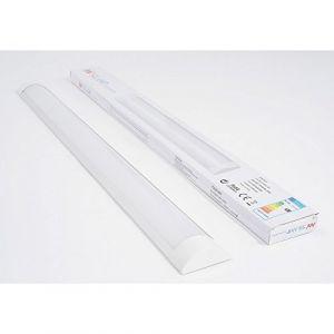 Silamp Réglette Lumineuse LED 120cm 36W - couleur eclairage : Blanc Froid 6000K - 8000K