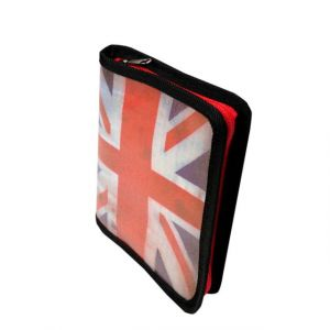 Exacompta 16111E - Album photos Union Jack 13x18,5 cm, 12p./24 photos, reliure livre