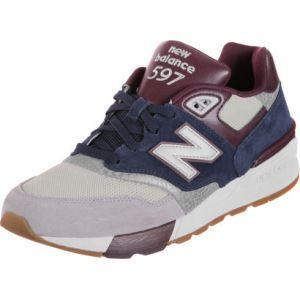 New Balance Ml597 chaussures bleu gris bordeaux 40 EU