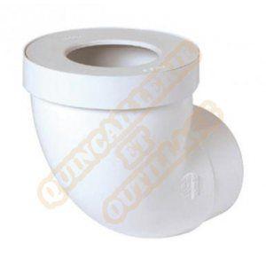 Nicoll Pipe courte plastique avec joint à levre