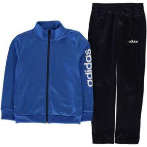 Adidas Ensembles de survêtement Linea Ensemble Survêtement Polyester bleu - Taille 11 / 12 ans,13 ans,7 / 8 ans,9 / 10 ans