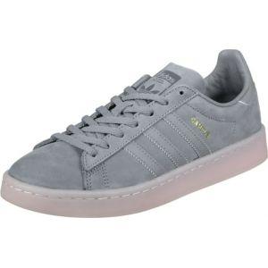 Adidas Campus W, Chaussures de Fitness Femme, Multicolore-Gris/Rose (Grey Three F17/Grey Three F17/Icey Pink F17), 43 1/3 EU