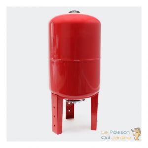 Le poisson qui jardine Ballon vertical ou cuve à vessie pour installations sanitaires : 50 litres