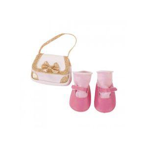 Gotz Sac /pink mary janes 50cm