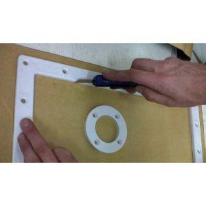 Kit 4 plaques de joints autocollants pour piscine - PISCINEO