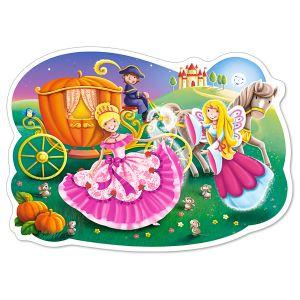 Castorland Puzzle - Puzzle Cendrillon, Puzzle 12 pièces maxi