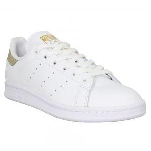 Adidas Stan Smith cuir Femme-40 2/3-Blanc Gold