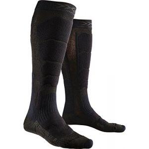 X-Socks Control 2.0 Chaussettes de Ski Homme, Noir, FR : XL (Taille Fabricant : 45-47)