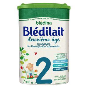Blédina Bledilait 2ème âge de 6 à 12 mois