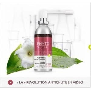 Phyto Paris Phytotraxil - Traitement anti-chute cheveux frisés, crépus