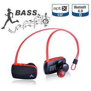 Image de Avantree Sacool Pro - Écouteurs tour de nuque Bluetooth 4.0 avec microphone