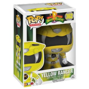 Funko Figurine Pop! Mighty Morphin Power Rangers : Yellow Ranger