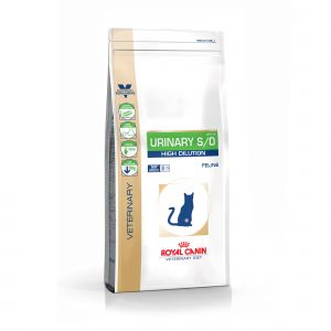 Royal Canin Veterinary Diet Urinary S/O High Dilution UHD 34 - Croquettes pour chat 1,5 kg