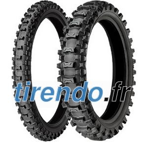 Michelin 80/100 R12 41M TT Starcross MS 3 Rear M/C
