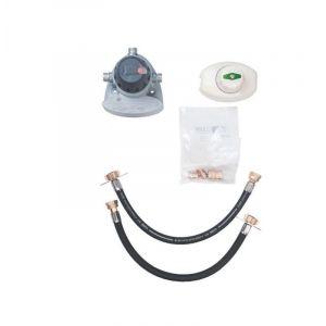 Clesse Détendeur gaz butane à sécurité - kit complet - Bukit SCT