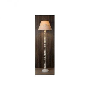 Lucide Robin - Lampadaire en bois avec abat jour 150 cm