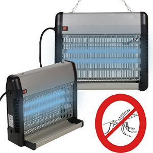 Maison futée GUARD'n care Lampe Destructeur d'insectes pour surface de 100m² 23 Watt