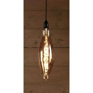 Ampoule LED d'extérieur BOT Retro Ø12,5 x 40 cm 4 piles AA