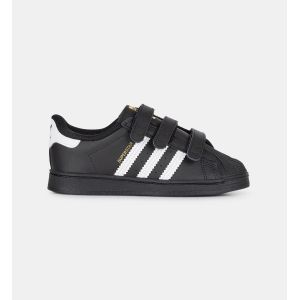 Adidas Superstar CF I, Basket Mixte Enfant, Core Black/FTWR White/Core Black, 25 EU