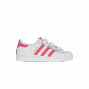 Image de Adidas Superstar Cf Blanc/rose Originals Blanc/rose 35 Enfant