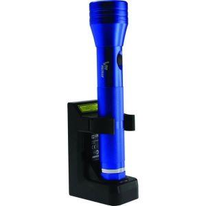 Voltman DIO065072 Torche Aluminium Rechargeable LED Bleu