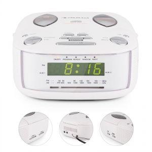 Auna Dreamee - Radio réveil avec lecteur CD