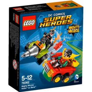 Lego 76062 - Super Heroes DC Comics Mighty Micros : Robin vs. Bane