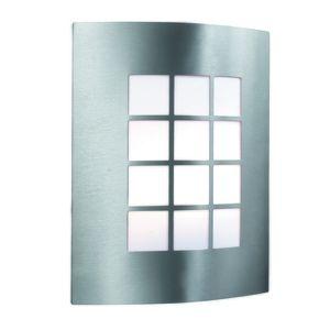 Searchlight Applique 27 cm Outdoor Lights - Acier inoxydable et polycarbonate