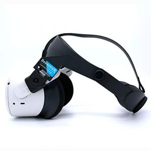 BeswinVR Halo Strap for Oculus Quest 2 and Quest 1- Virtual Reality Accessories- Black