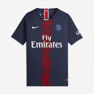 Nike Maillot de football 2018/19 Paris Saint-Germain Vapor Match Home pour Enfant plus âgé - Bleu - Taille M