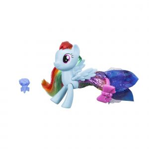 Hasbro My Little Pony Poney sirène articulé + jupe