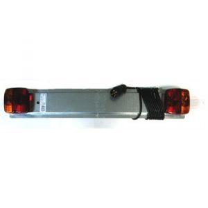 Norauto Support de plaque d'immatriculation en métal 75 cm