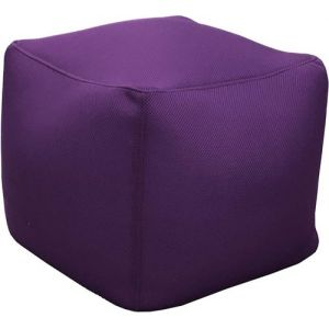 Proloisirs Pouf de piscine Big Bag 40 cm Aubergine