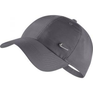 Nike Casquette réglable Metal Swoosh H86 - Gris - Taille Einheitsgröße - Unisex