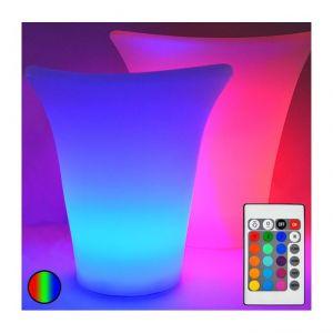 Vision-El Seau à glace Big RGB rechargeable IP54