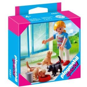 Playmobil 4687 - Maman et chiots