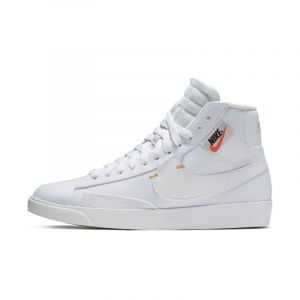 Nike Chaussure Blazer Mid Rebel pour Femme - Blanc - Taille 41 - Female