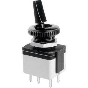 Apem Interrupteur à levier 2 x Off/On 46410035 250 V/AC 3 A permanent 1 pc(s)