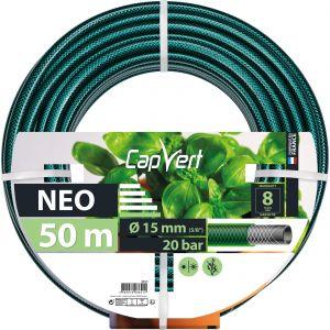 Image de Cap Vert Tuyau d'arrosage Néo - Diamètre 15 mm - Longueur 50 m