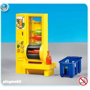 Playmobil 7931 - Distributeur de boissons